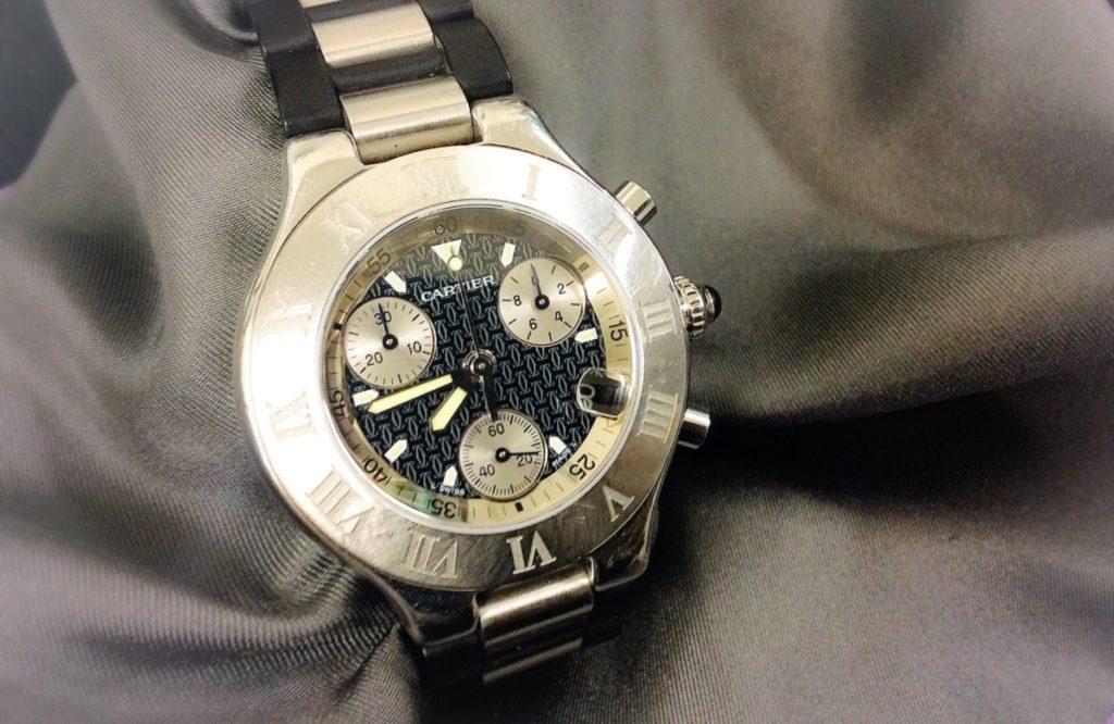 newest b9145 0fa11 時計修理の日々   カルティエのオーバーホール、各種パッキン ...